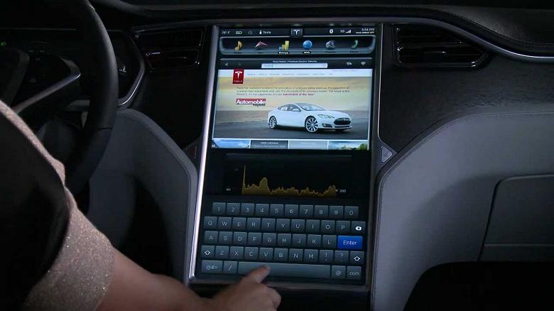 Ваша Tesla научится воспроизводить видео из YouTube и не только