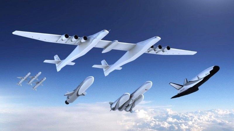 Stratolaunch представила новые ракеты-носители и космоплан