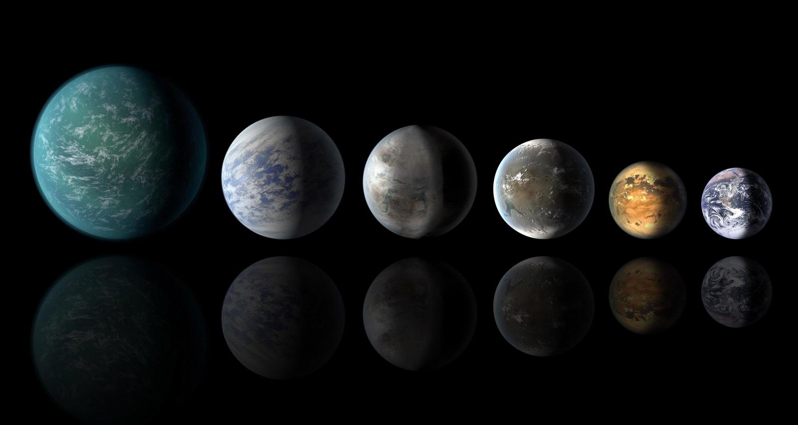 Многие из экзопланет могут иметь огромные количества воды