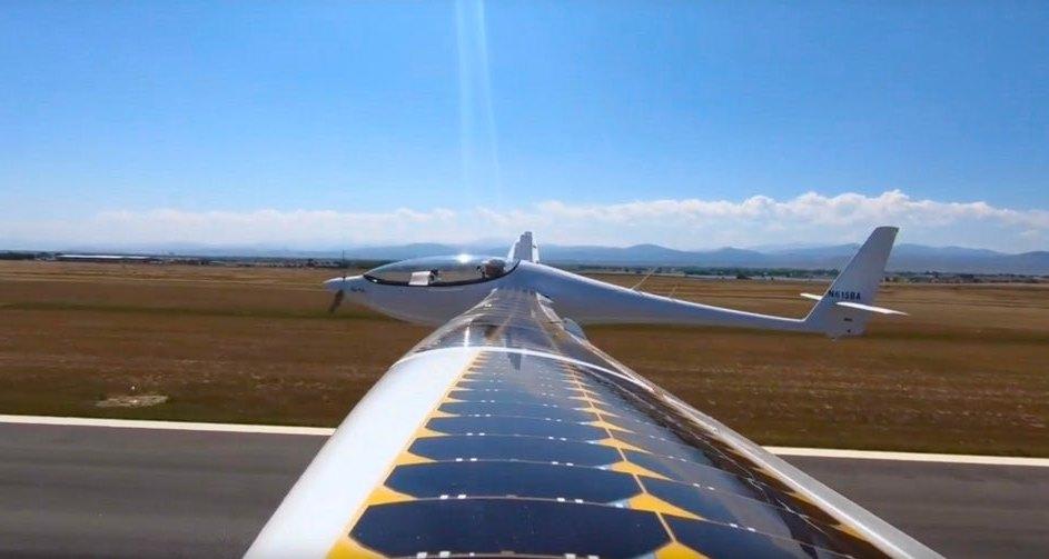 Солнечно-электрический самолет Bye Aerospace совершил первый полет