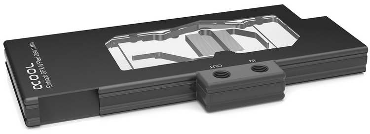 Для видеокарт NVIDIA GeForce RTX уже предлагаются водоблоки