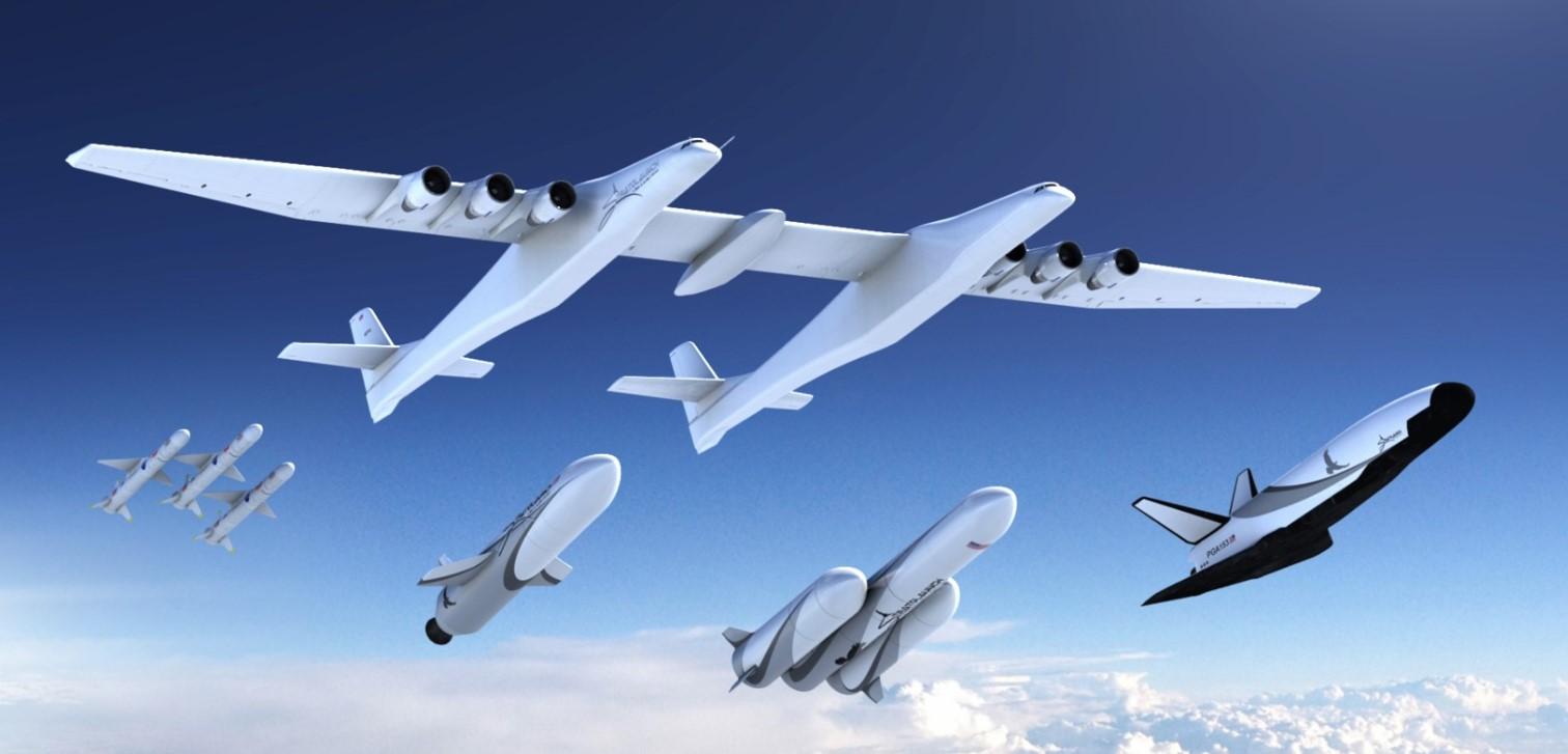 Компания Пола Аллена готовит орбитальный самолёт для запуска со Stratolaunch - 3