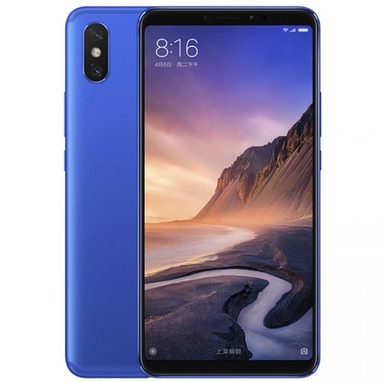 Начинаются продажи смартфона Xiaomi Mi Max 3 в глубоком синем цвете