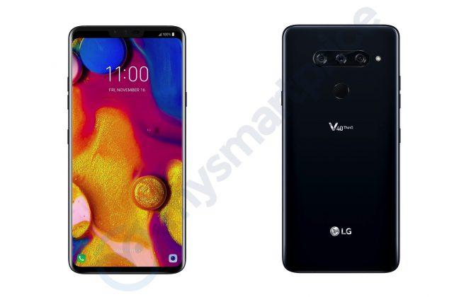 Первые пресс-рендеры смартфона LG V40 ThinQ показали пять камер - 1