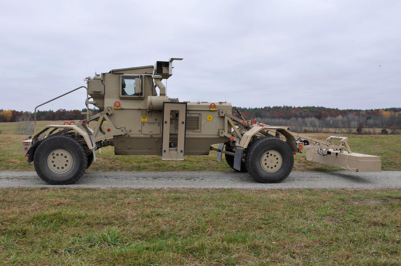 Военная технология обнаружения мин помогает робомобилям ориентироваться на любых дорогах - 1
