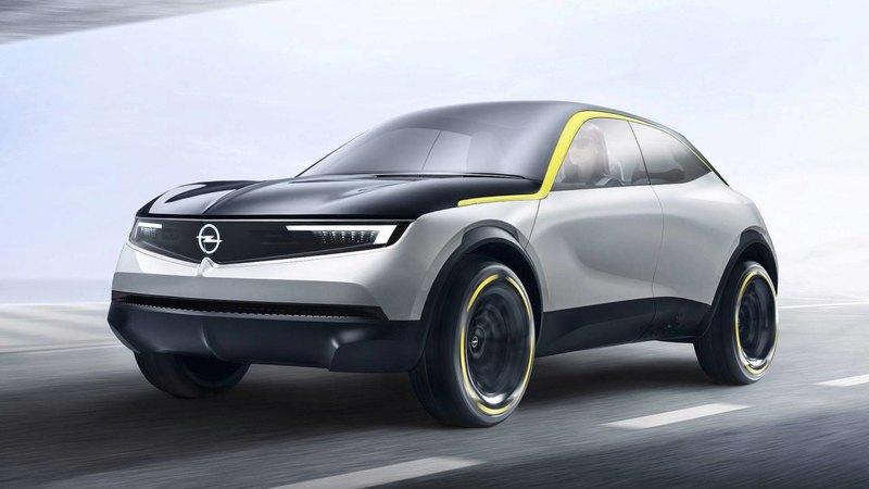 Opel представил электрический концепт-кар с новым фирменным дизайном