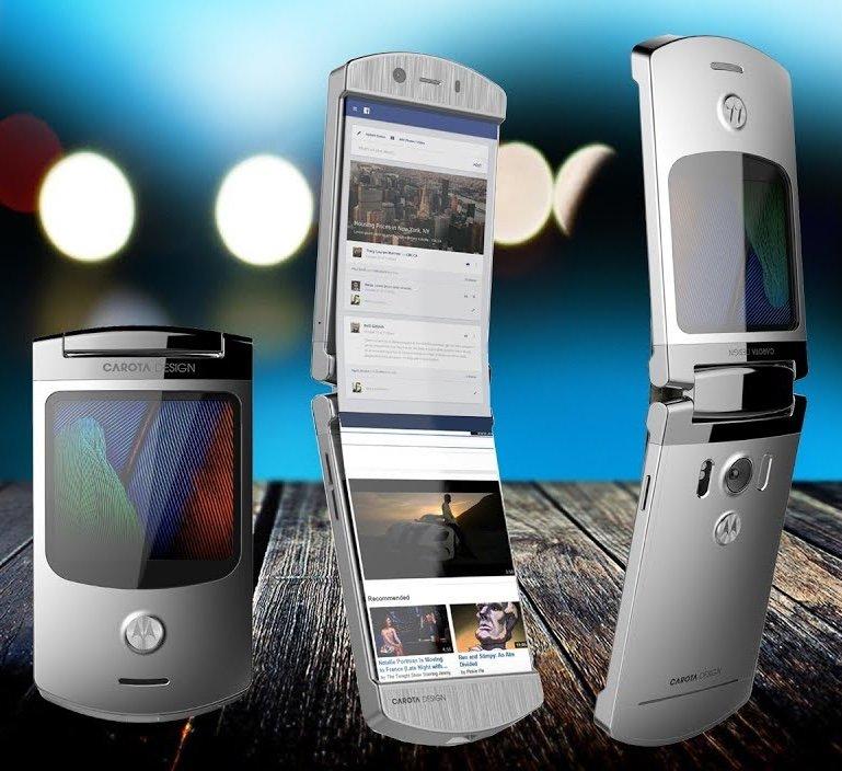 Культовая раскладушка Motorola RAZR может вернуться - 1