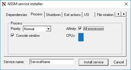 Пилим свою службу Windows – руководство для «не настоящих программистов» - 7