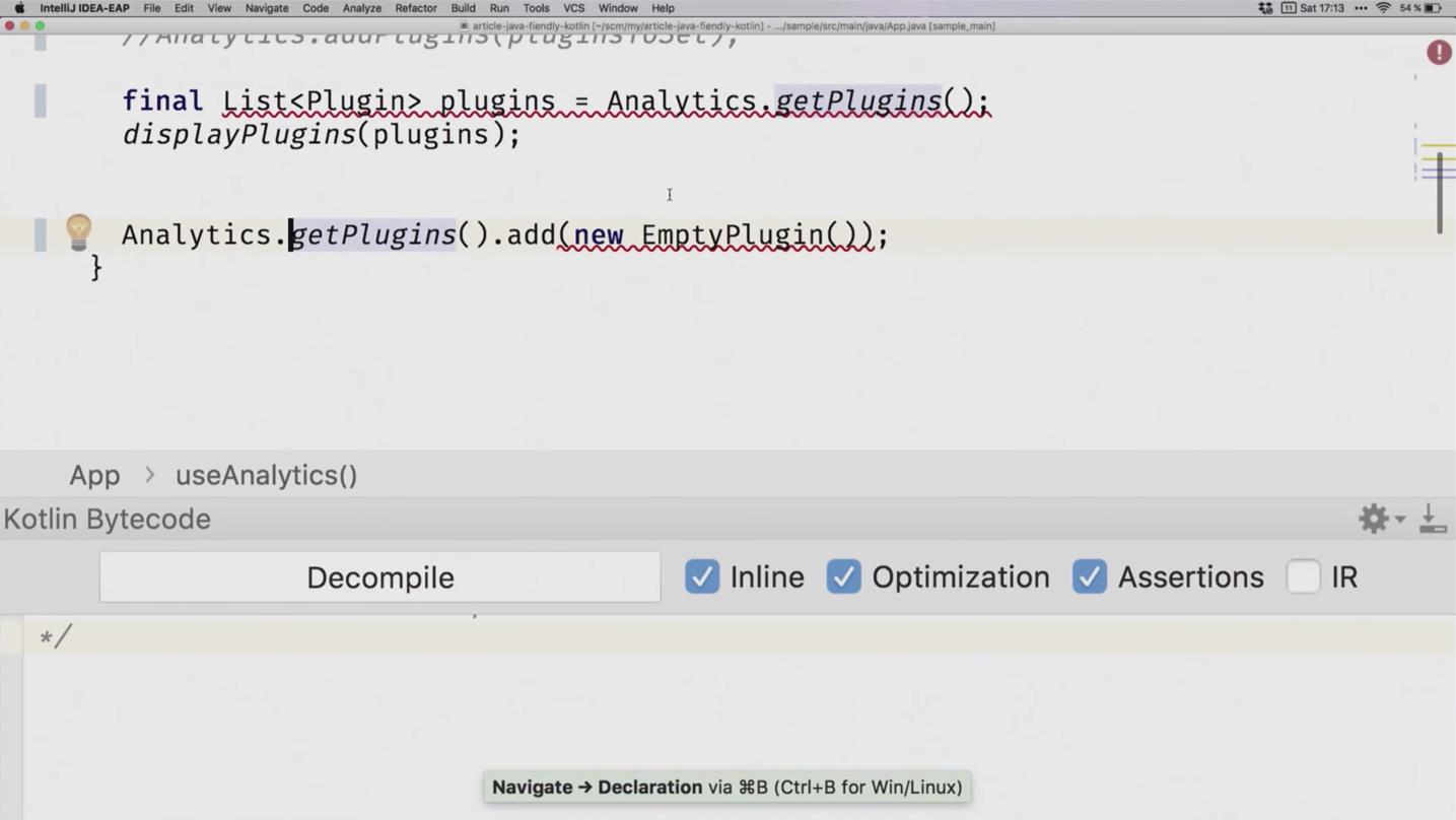 Пишем Java-френдли Kotlin-код - 13