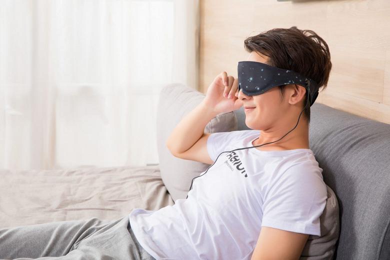 Представлена первая в мире графеновая маска для снятия усталости и релаксации глаз