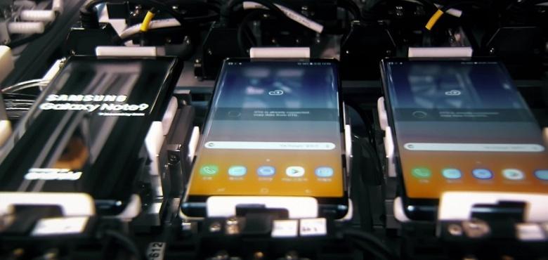 Видео дня: производство смартфона Samsung Galaxy Note 9 - 1