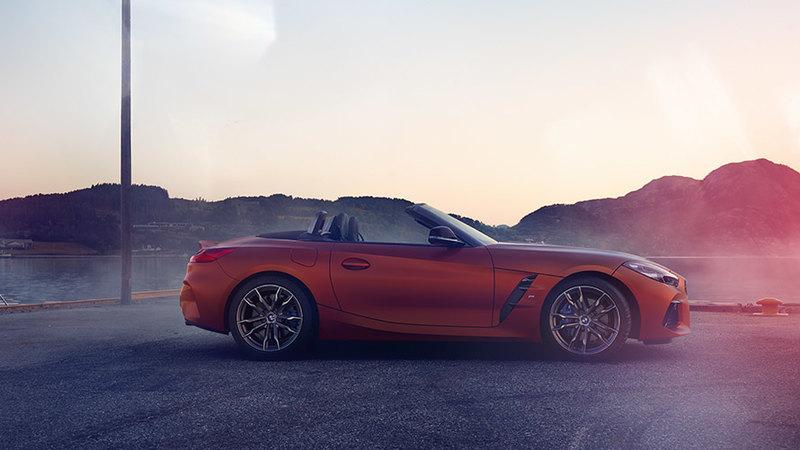 BMW презентовала родстер Z4 нового поколения