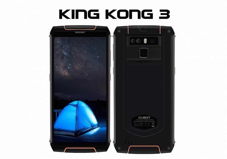 King Kong 3 — защищенный смартфон в SoC Helio P23 и аккумулятором емкость 6000 мА•ч