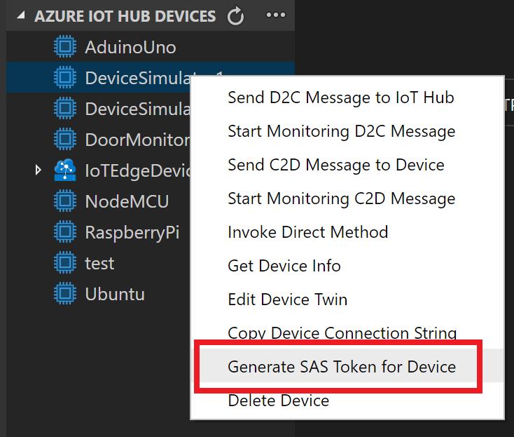 Использование VS Code для вызова REST API в Azure IoT Hub [+ полезные материалы] - 2
