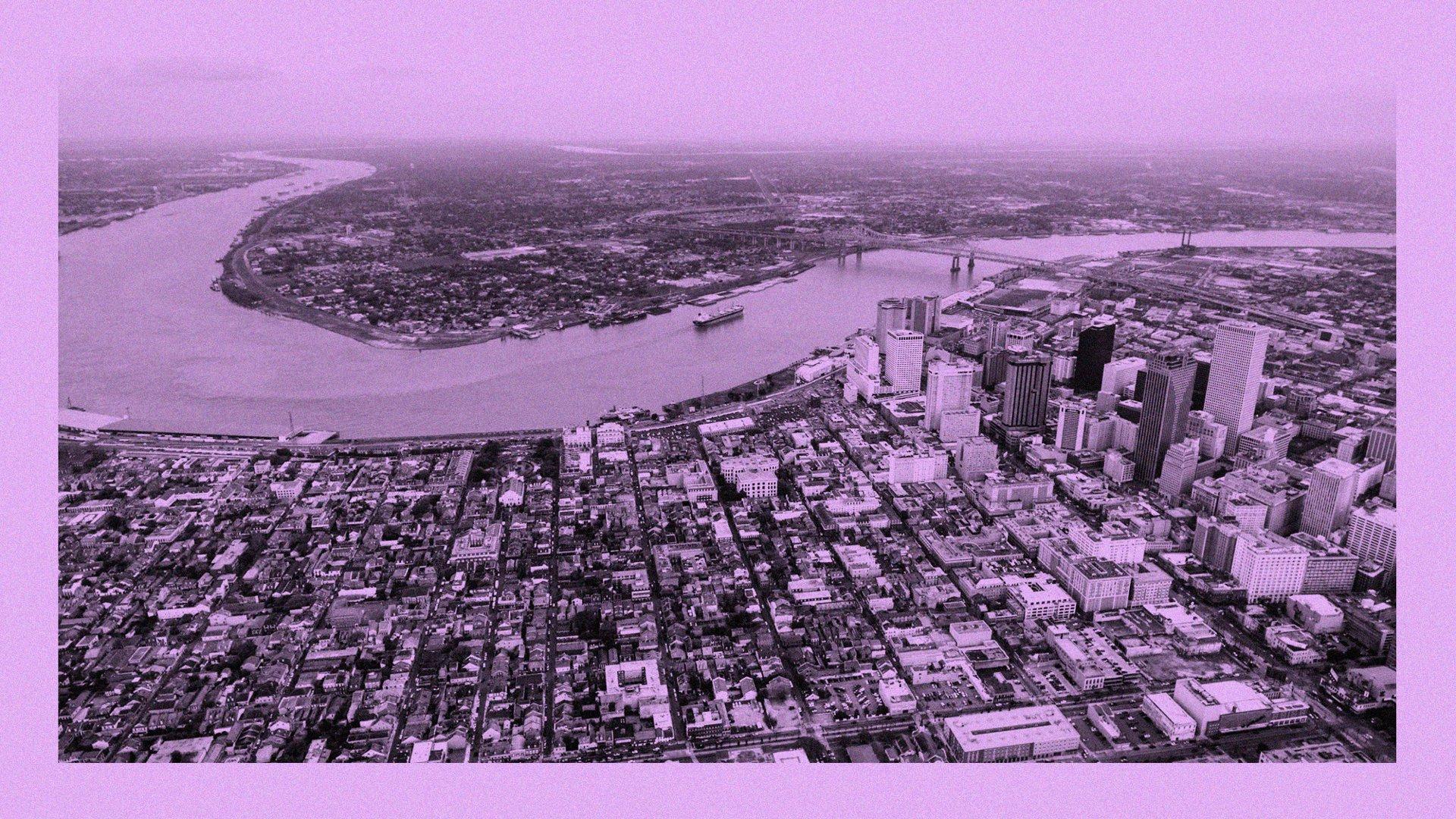 Как люди «утопили» Новый Орлеан - 1