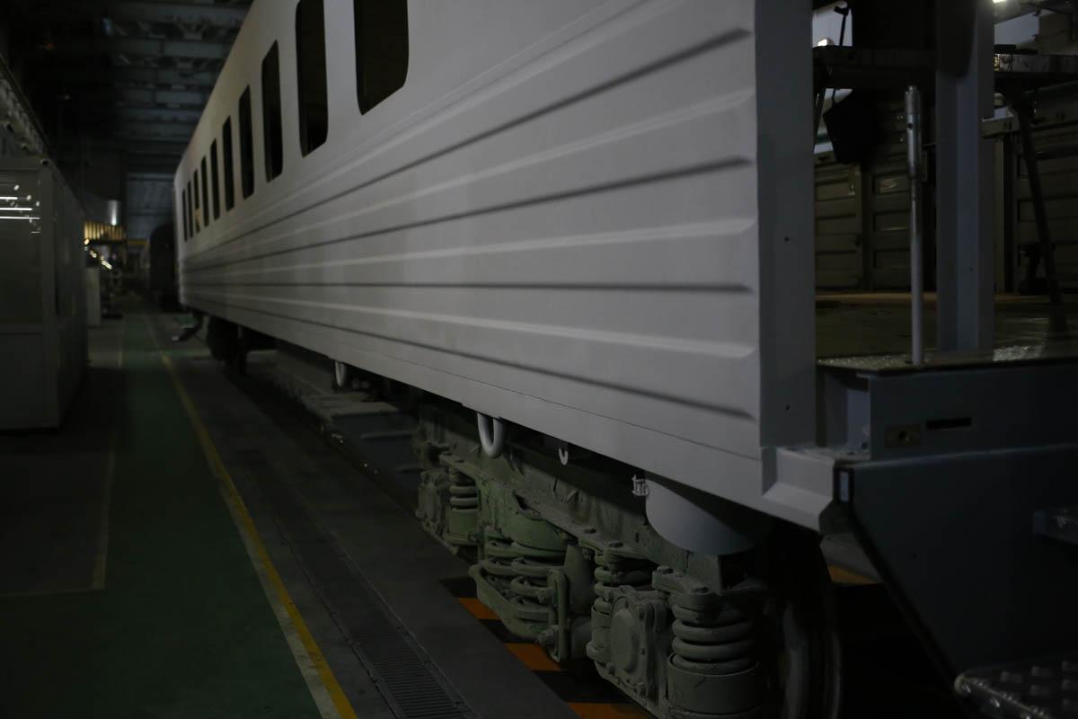 Как собирают вагоны для пассажирских поездов - 52