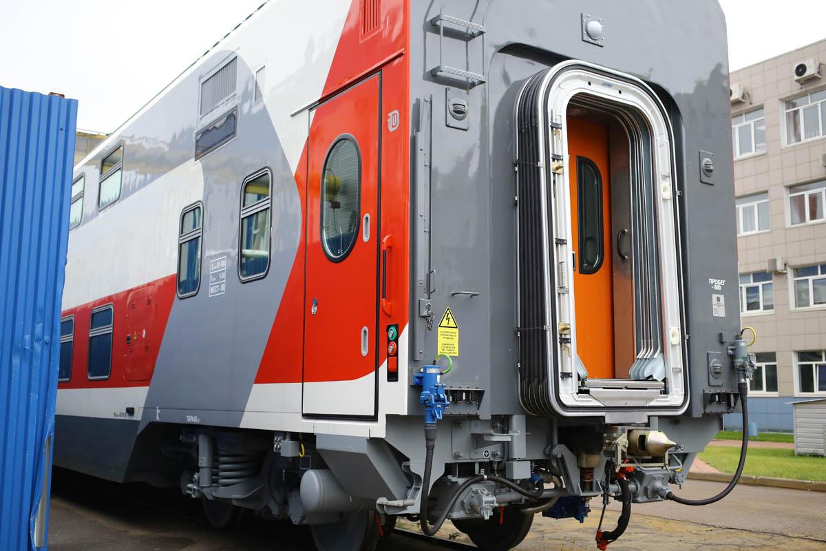 Как собирают вагоны для пассажирских поездов - 78