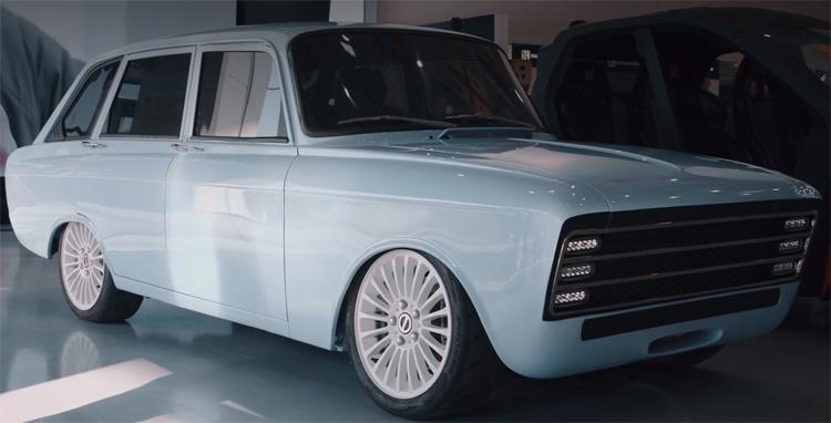 «Калашников» показал электрический концепт-кар в кузове «ИЖ-Комби»