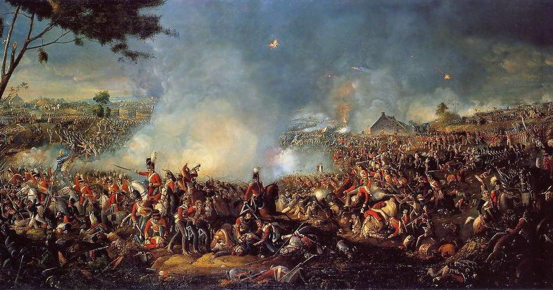 Наполеон проиграл Ватерлоо из-за извержения вулкана в Индонезии