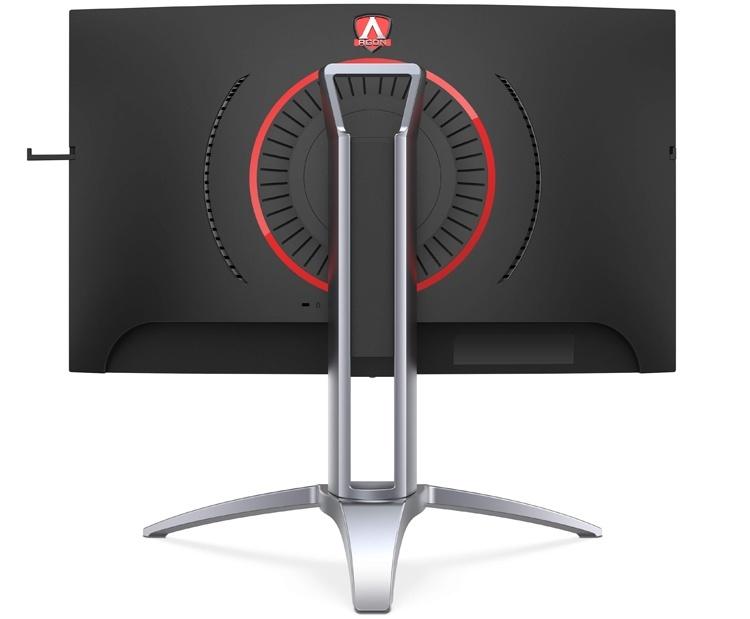 Размер изогнутых игровых мониторов AOC Agon 3 Series равен 27″