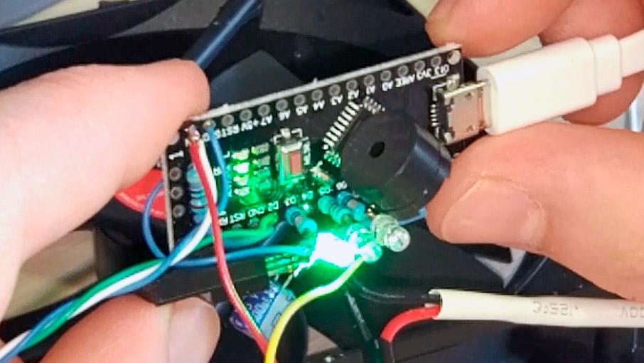 Полупассивное охлаждение компьютерного БП - 1