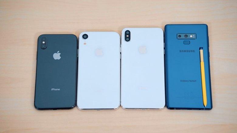 Видео дня: Samsung Galaxy Note9 сравнили с новыми iPhone (2018) - 1