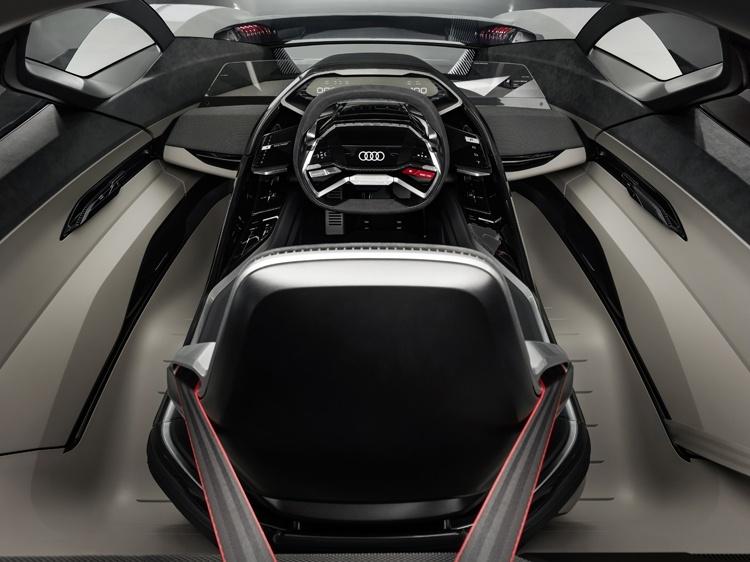 Audi PB18 e-tron: электрический спорткар с запасом хода более 500 км