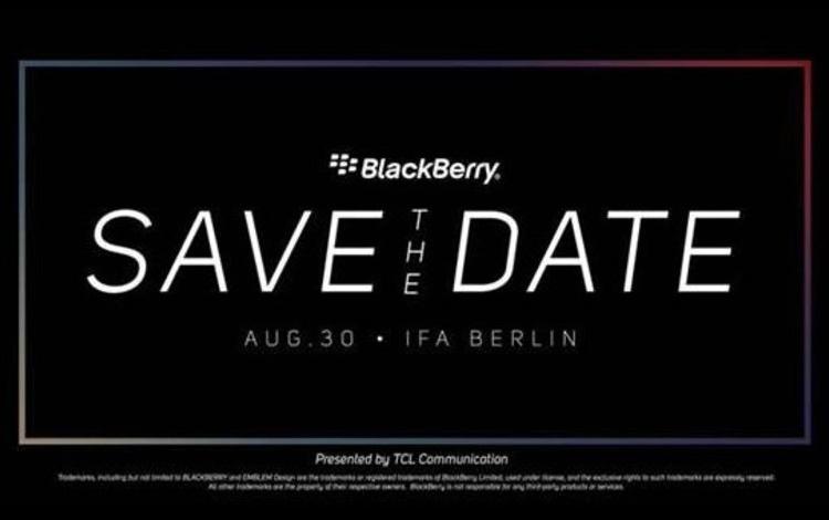 Анонс смартфона BlackBerry KEY2 LE намечен на предпоследний день лета