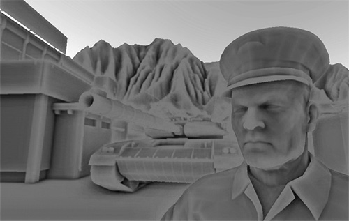 Learn OpenGL. Урок 5.10 – Screen Space Ambient Occlusion - 5