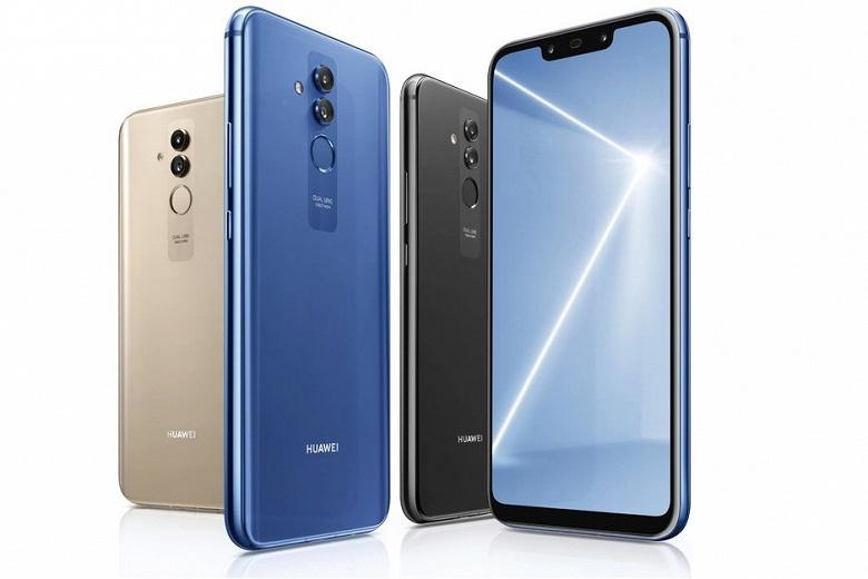 Смартфон Huawei Mate 20 Lite начал появляться в продаже - 1