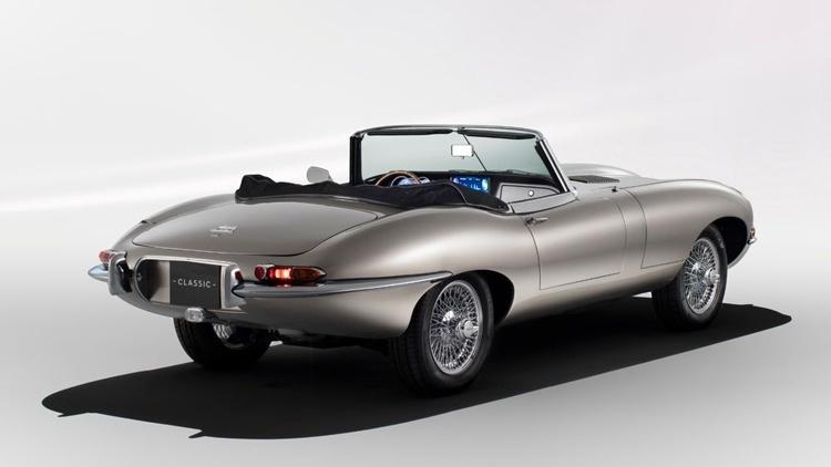 Спорткар Jaguar E-type переродится в виде электромобиля