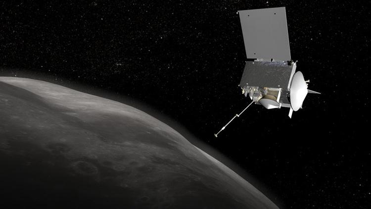 Зонд OSIRIS-REx начинает сближение с астероидом Бенну