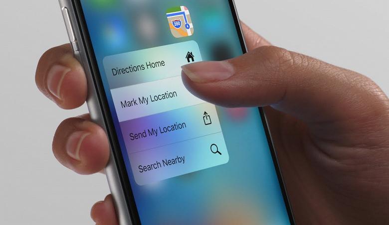 Apple откажется от технологии 3D Touch уже в 2019 году