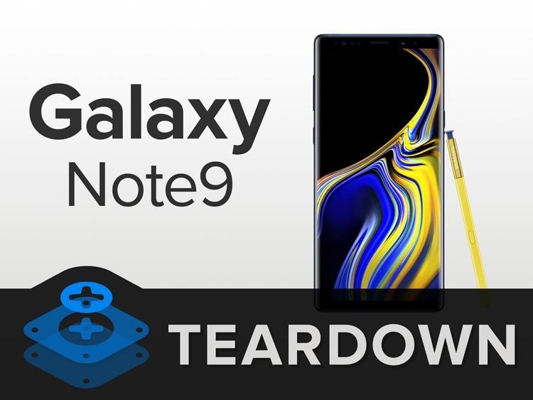 Фаблет Samsung Galaxy Note9 разобран «на винтики» [обновлено]