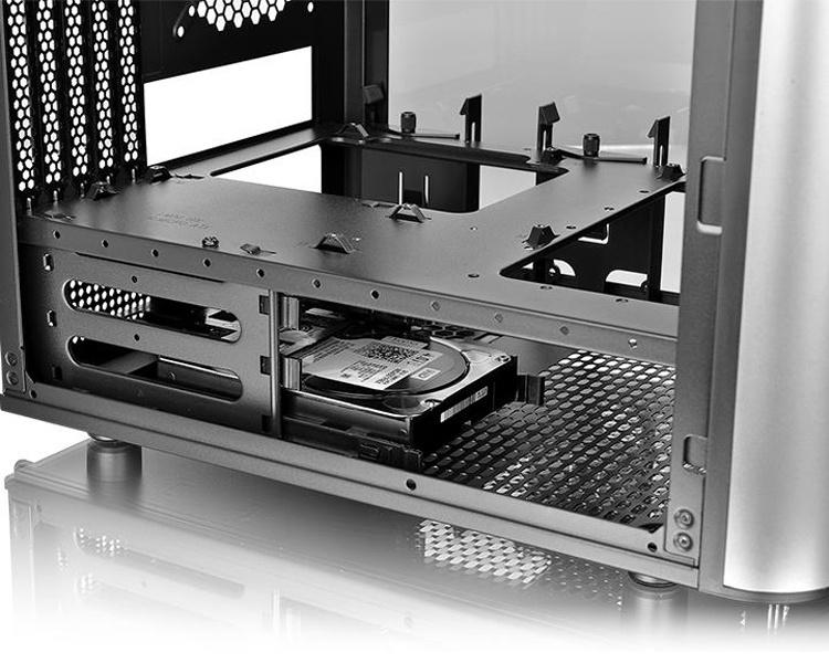 Корпус Thermaltake Level 20 VT позволяет сформировать компактный игровой ПК