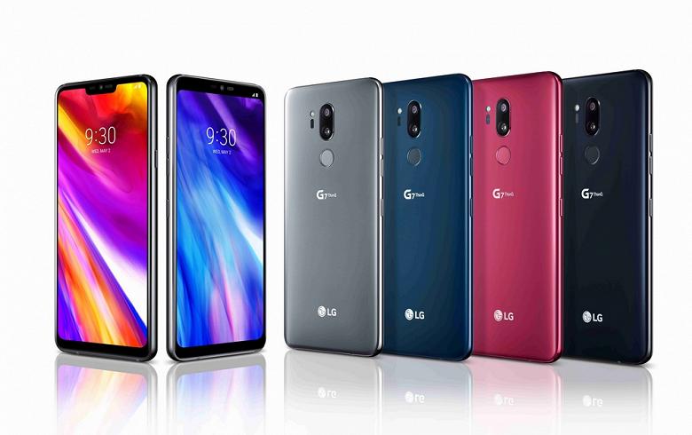 Смартфоны LG G7 One и LG G7 Fit представят на этой неделе