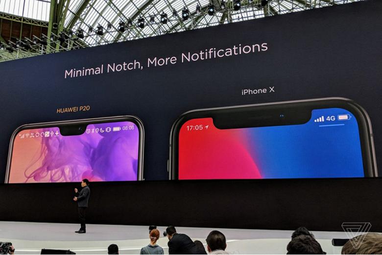 Huawei сравнила свой флагманский камерафон с iPhone X - 1
