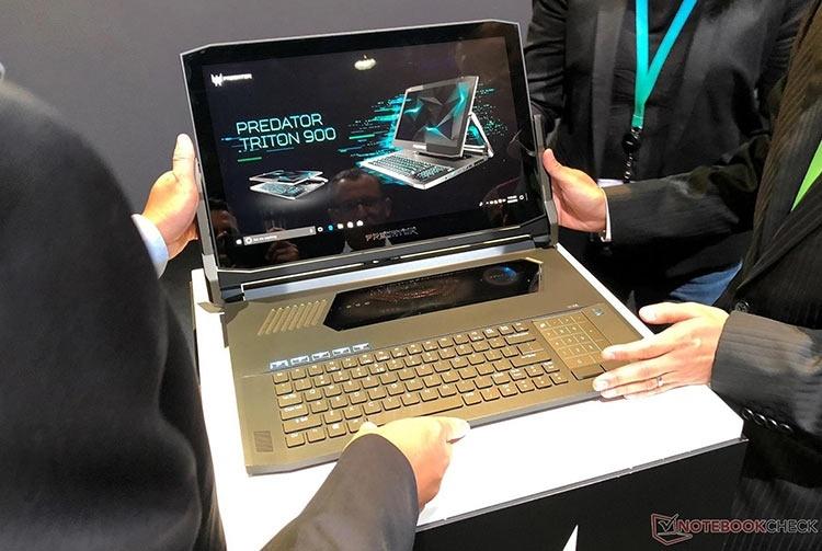 IFA 2018: Acer Predator Triton 900 — игровой ноутбук-трансформер