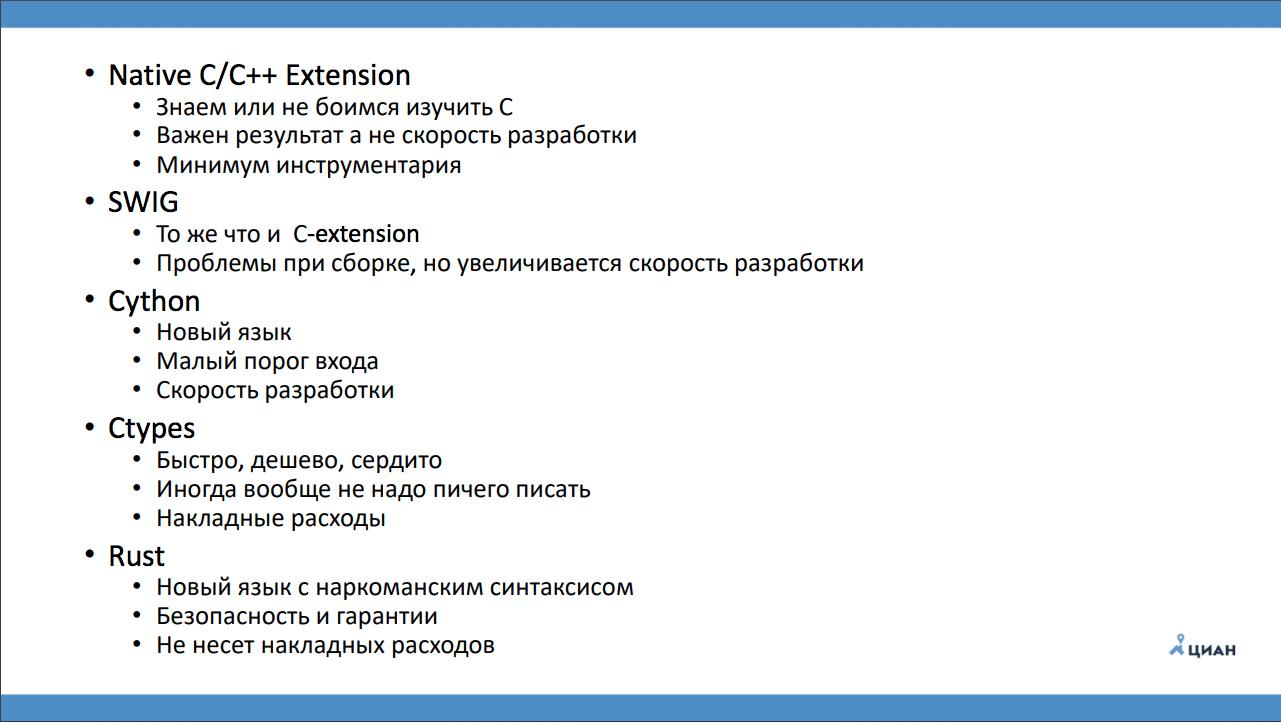 Бинарные модули для Python - 4
