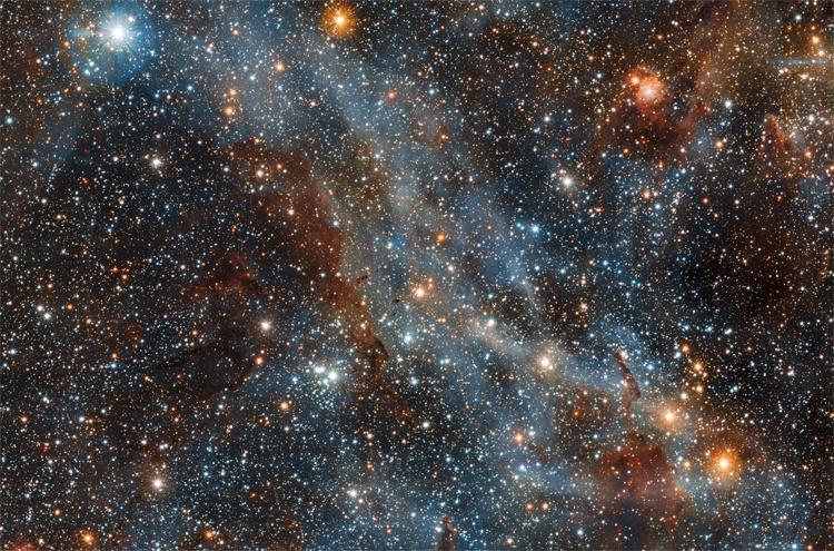 Фото дня: завораживающее изображение туманности Киля