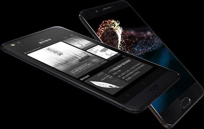 Представлен двухэкранный смартфон Yota 3+ - 1