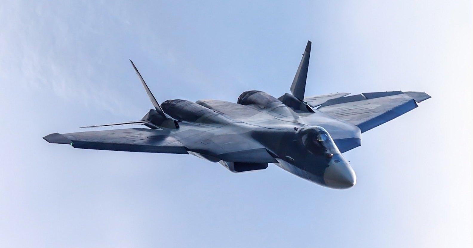 Су-57 получит новую систему связи с землёй
