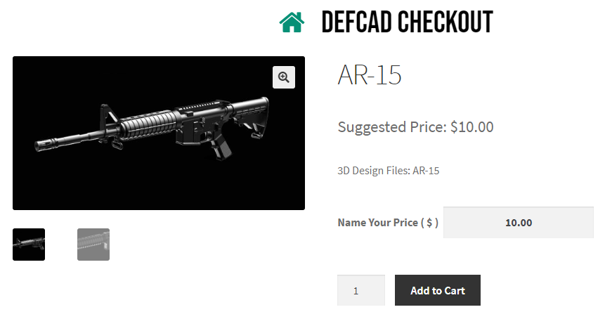 Суд запретил свободное распространение оружейных CAD-файлов, поэтому создатель начал продавать их - 1