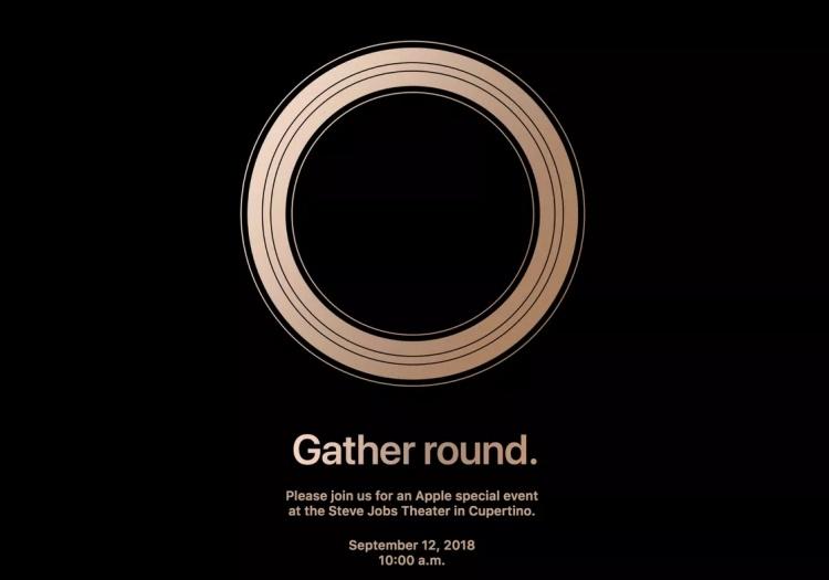 Apple назвала дату официального анонса новых iPhone