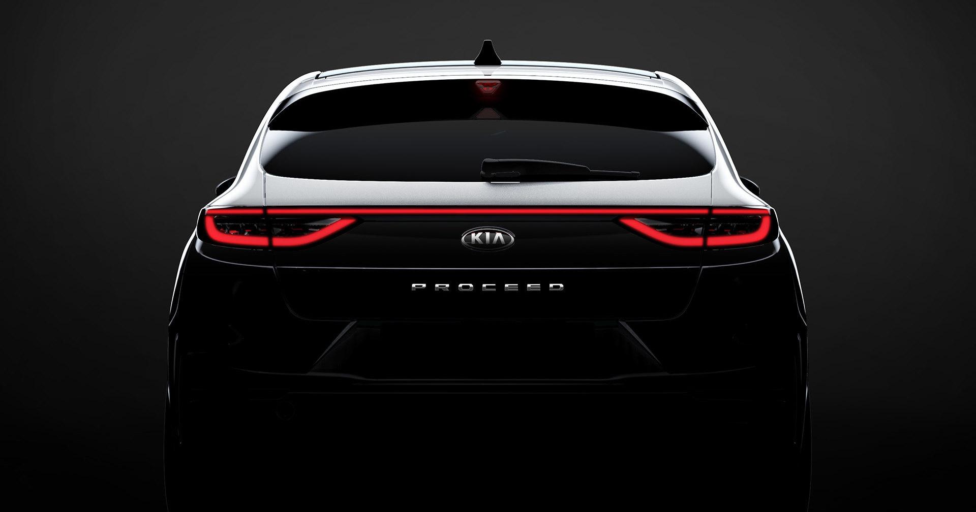 Kia представит молодёжный универсал (в стиле Porsche)