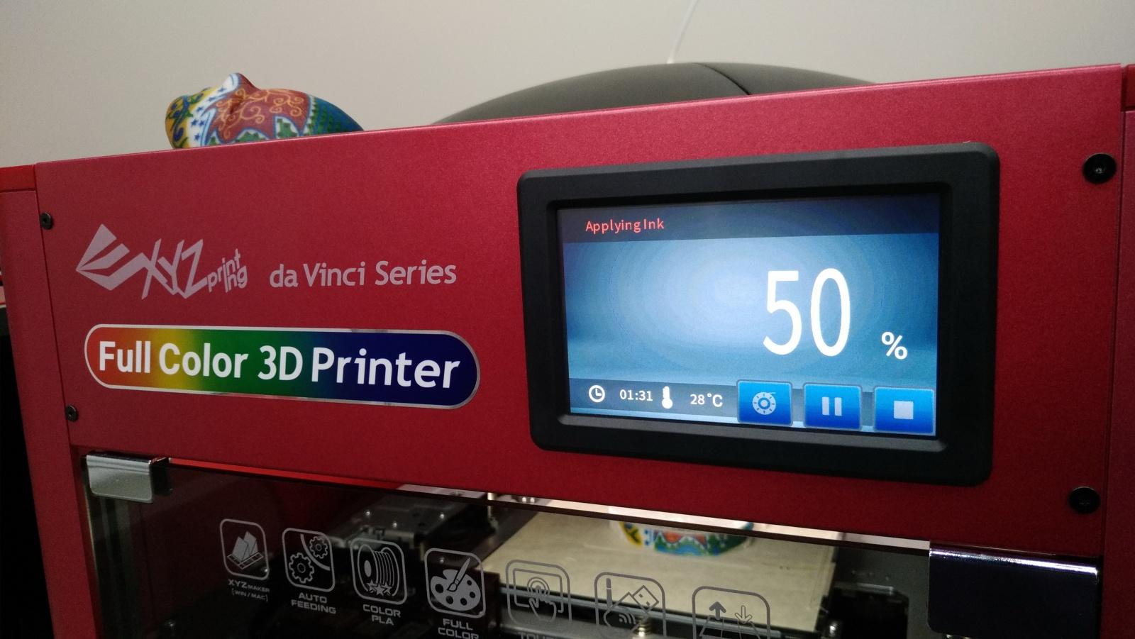 Цветной 3D-принтер Da Vinci. Фоторепортаж с презентации Компании XYZprinting - 16