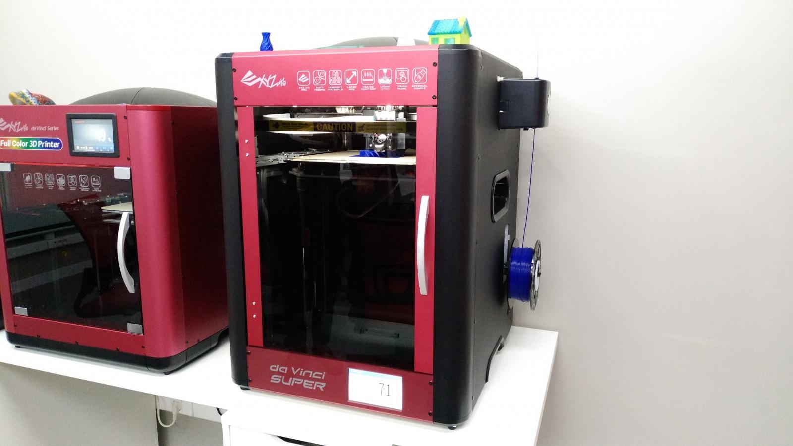 Цветной 3D-принтер Da Vinci. Фоторепортаж с презентации Компании XYZprinting - 2