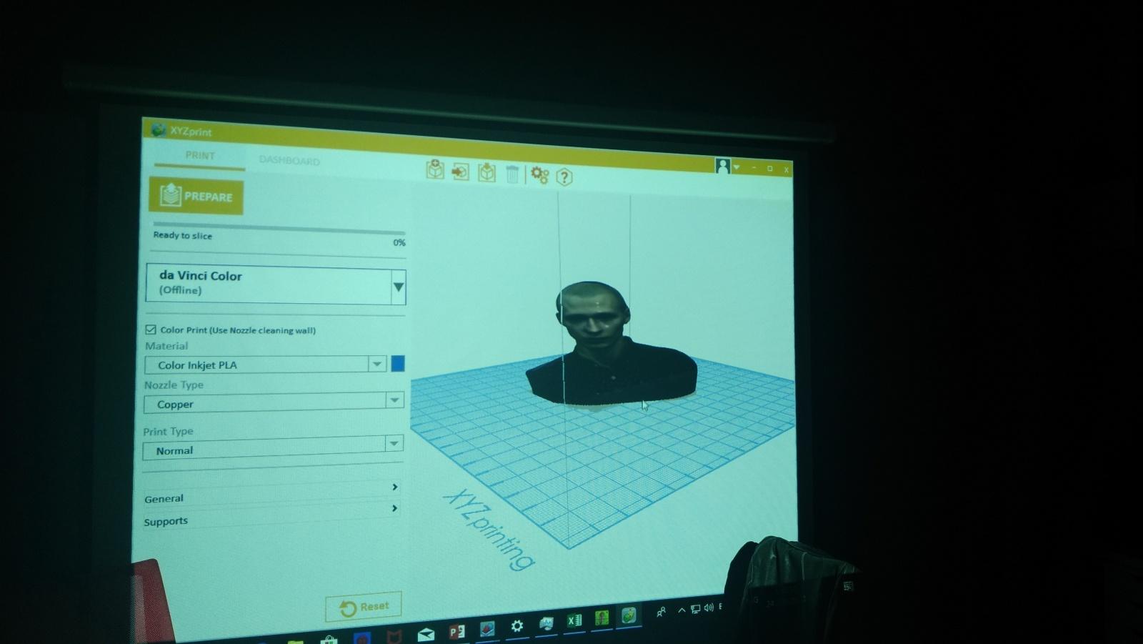 Цветной 3D-принтер Da Vinci. Фоторепортаж с презентации Компании XYZprinting - 25