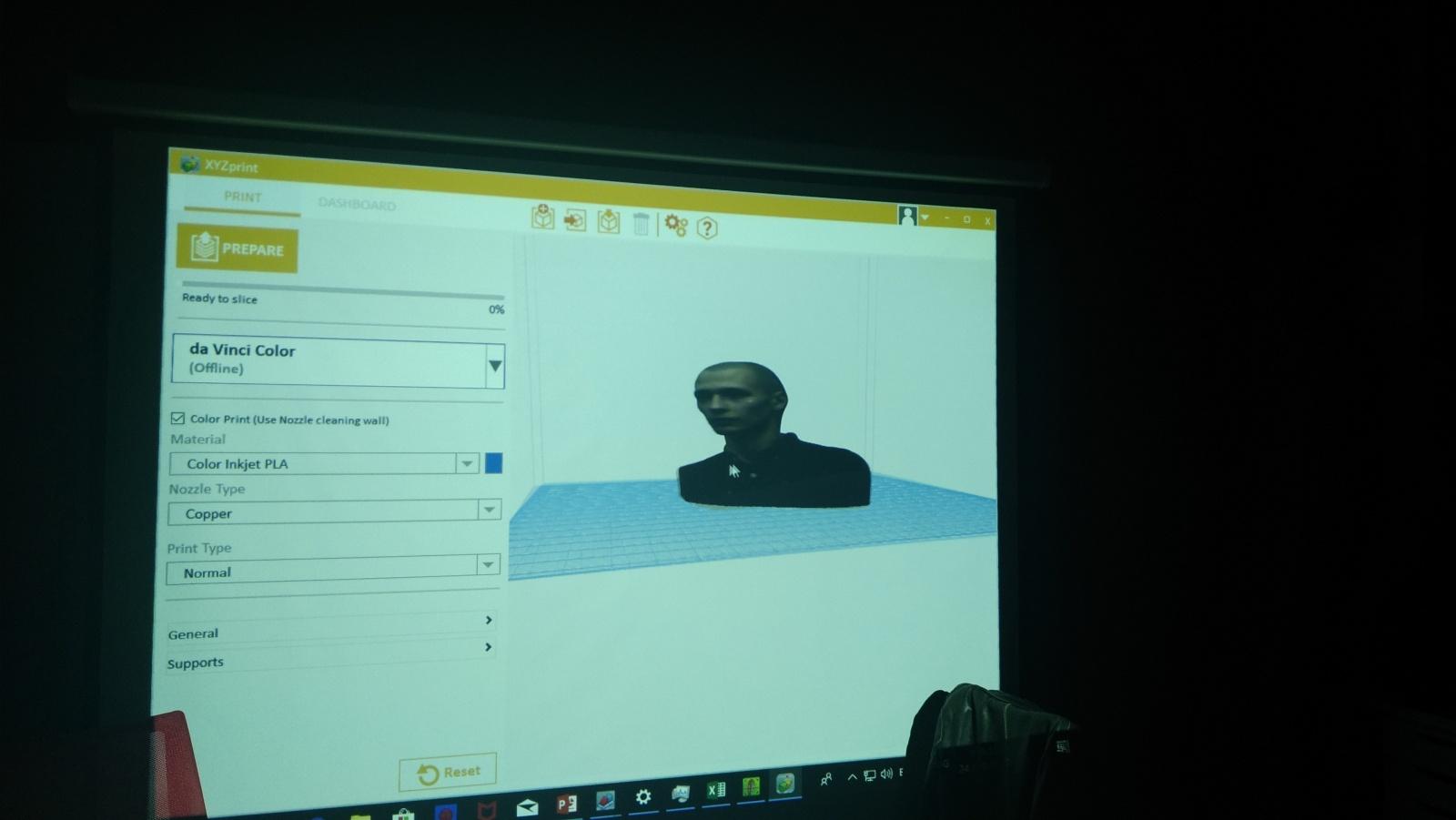 Цветной 3D-принтер Da Vinci. Фоторепортаж с презентации Компании XYZprinting - 27