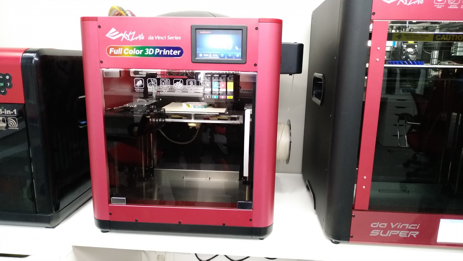 Цветной 3D-принтер Da Vinci. Фоторепортаж с презентации Компании XYZprinting - 3